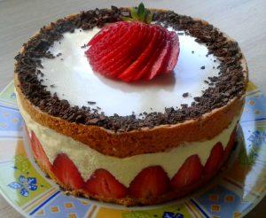 """Торт """"Фрез'є"""""""