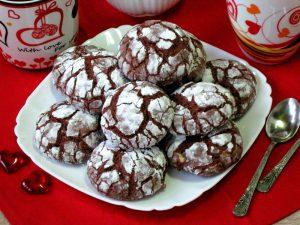 """Печиво """"Шоколадні тріщинки"""