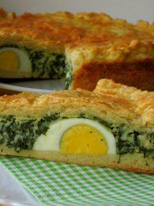 Італійський великодній пиріг Torta Pasqualina