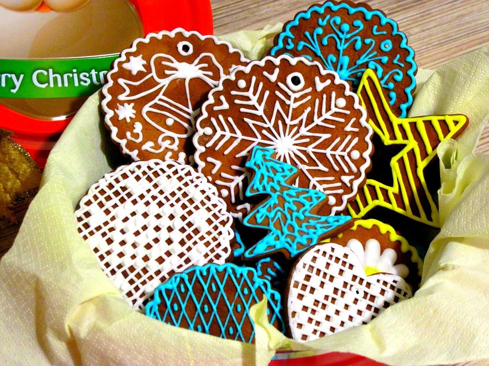 Різдвяне медово-імбирне печиво