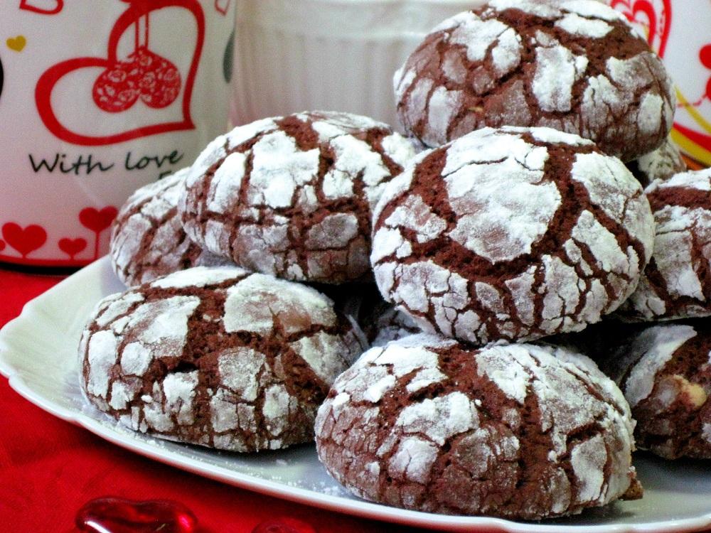 """Печиво """"Шоколадний кракелюр"""""""