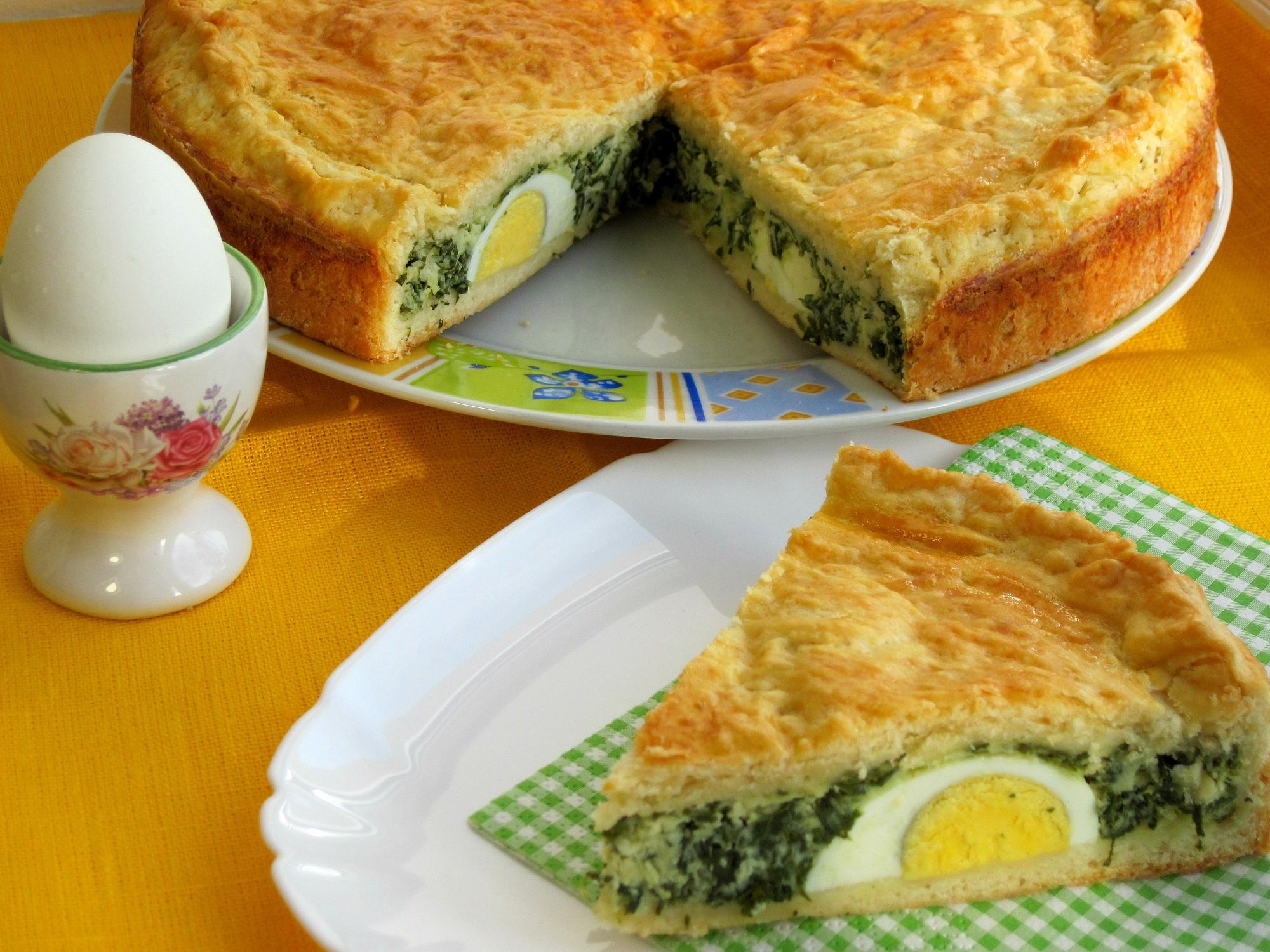 Італійський великодній пиріг La Torta Pasqualina
