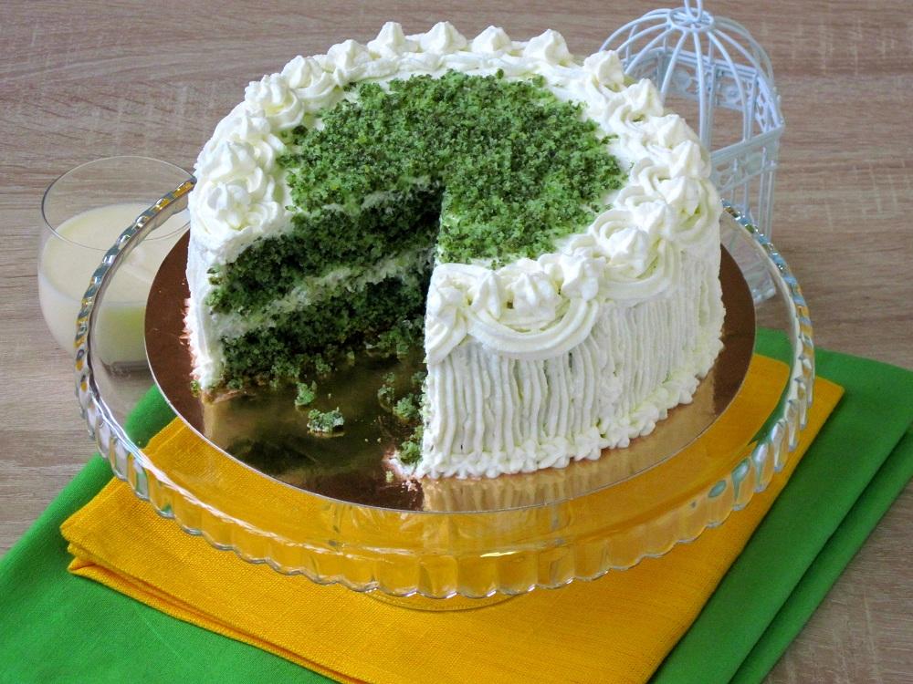 """Торт """"Смарагдовий оксамит"""""""